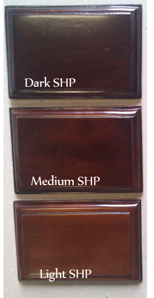 mahogany finish color SHP