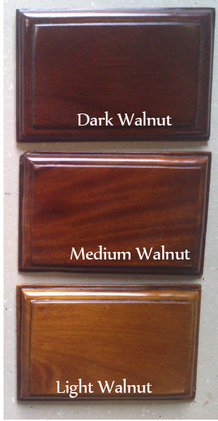 mahogany finish color WALNUT