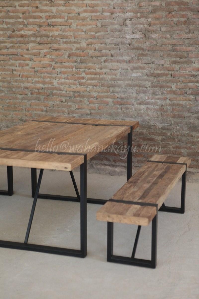 dev recycled dining table wahana kayu 7