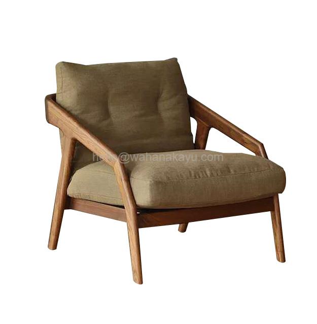 Osbone Lounge Chair kursi jati