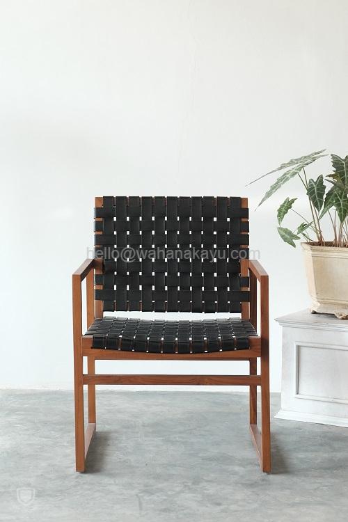 Kara Arm Chair kursi tamu kayu
