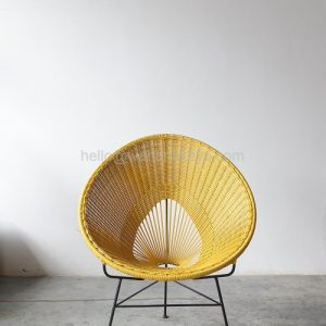 Honey Rattan Chair