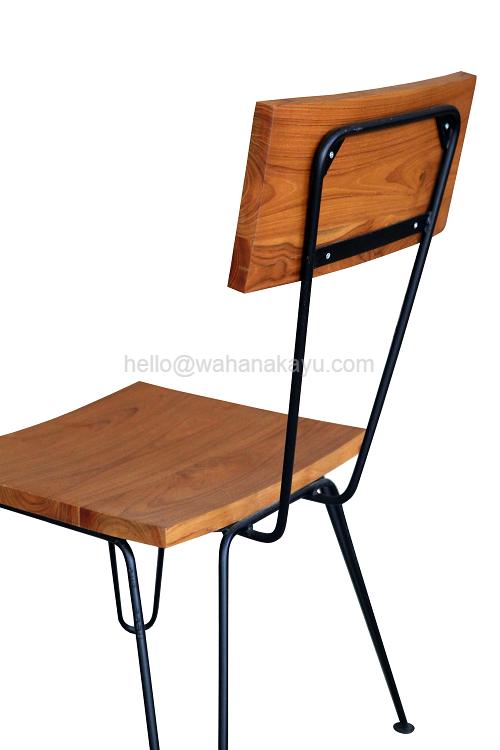 4 Kubi Chair kursi kayu