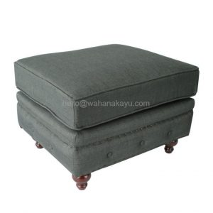 Modern Chesterfield Stool