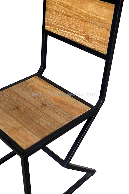 6 Hox Chair1 kursi jati minimalis