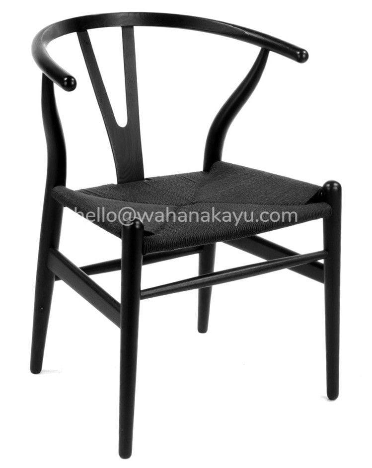wisbhone chair kayu jati