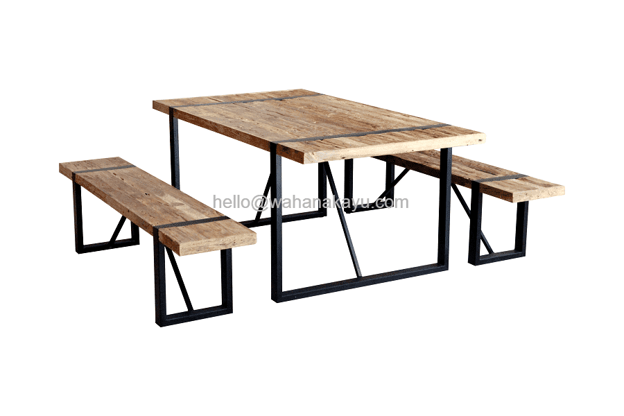Dev Recycled Dining Table