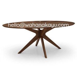 Saksak Oval Table